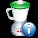 Blend, Info icon