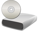cd, disc, disk, save, drive icon