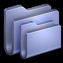 Folders Blue Folder icon
