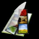 video,vert icon