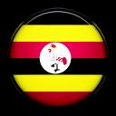 uganda, country, flag icon