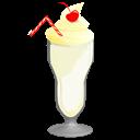vanilla, milkshake, food icon