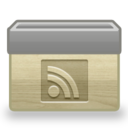 folder,rss,subscribe icon