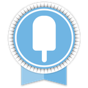 ribbon, fancy, social icon