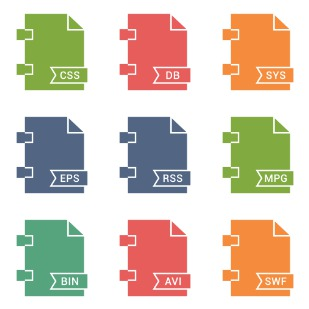 File Names Vol 2 icon sets preview