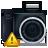 Camera, Noflash, Warning icon