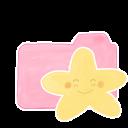Ak, Candy, Folder, Happy, Starry icon