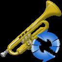 Refresh, Trumpet icon