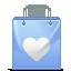 Bag, Heart, Love icon