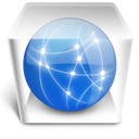 document, paper, file, server icon