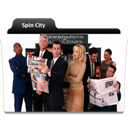 City, Spin icon