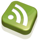 rss, feed, subscribe, green icon