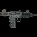 pistol, mini, uzi icon