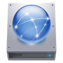 network, hdd icon