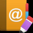 edit, addressbook icon