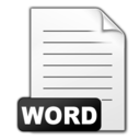word,document icon