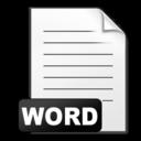 word,document icon