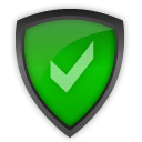 accept, antivirus, shield icon