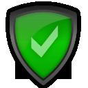 accept, antivirus, shield icon