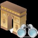 arcodeltriunfo,search,find icon