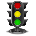 traffic, light icon