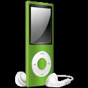 Green, Ipod, Nano, Off icon