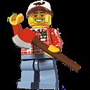 Lego, Lumberjack icon