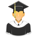 university, school, learner, graduated, student icon