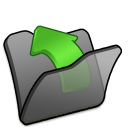 folder black parent icon