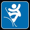 , Slopestyle, Snowboard icon