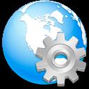 global, international, browser, service, earth, planet, network, internet, settings, globe, world icon