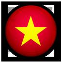 flag, vietnam, of icon