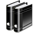 libraryblack icon