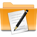 kde,folder,txt icon