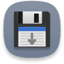 disk save as icon