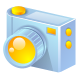 digital, camera icon