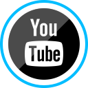corporate, logo, media, social, youtube icon
