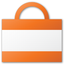 shopping, shopping cart, red, cart, bag, buy, commerce icon