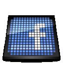 social media, social, led, facebook icon