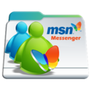 msn,messenger,folder icon