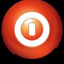 Cute Ball Shutdown icon
