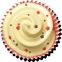 beige, muffin, cupcake, cake icon