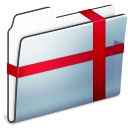 Folder, Graphite, Package, Smooth icon