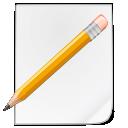 file, pencil, pen, paper, memo, edit icon