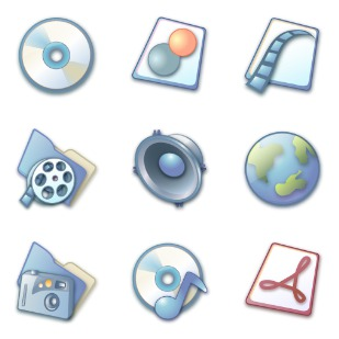 Pastel icon sets preview