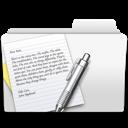 textedit, folder icon