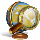 world, search, find, globe, earth icon
