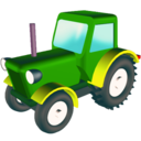 wheeled,tractor icon