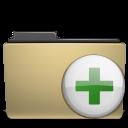 folder, archive, manilla, add, plus icon