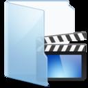 Folder Blue Video icon